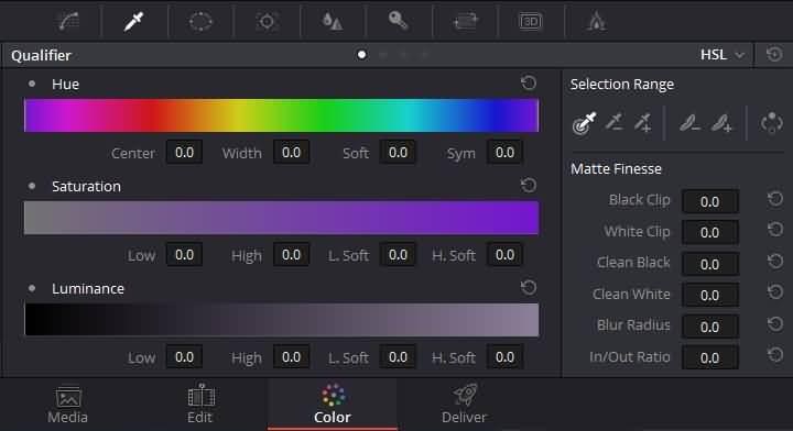 qualifier palette