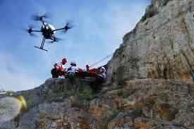 search and rescue by drone