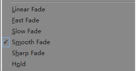Take benefits from fade mode