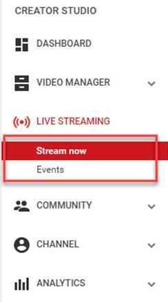 stream now