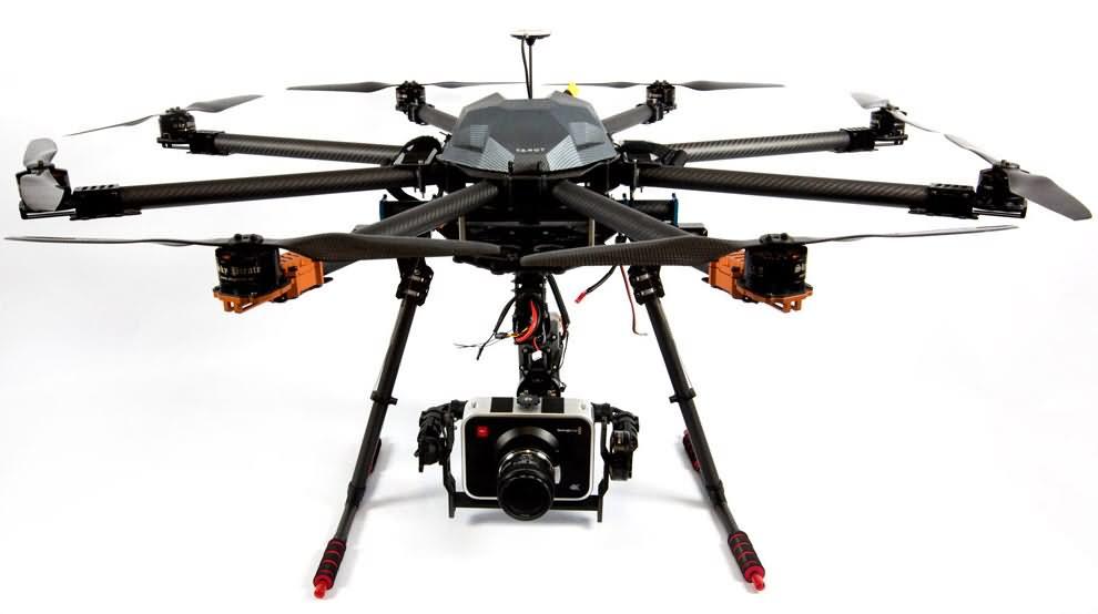 tarot t-18 ready to fly drone