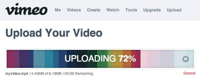 vimeo-uploading