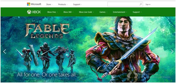 Aplicativo para Xbox e Streaming