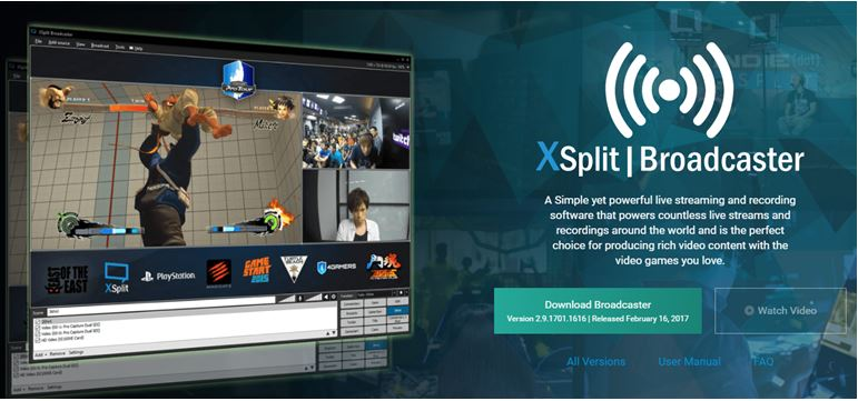XSplit Broadcast