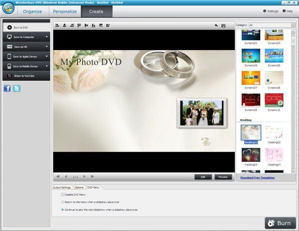 casamento slideshow foto