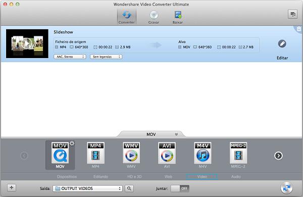vob em mov no mac (Mountain Lion, Lion incluído)