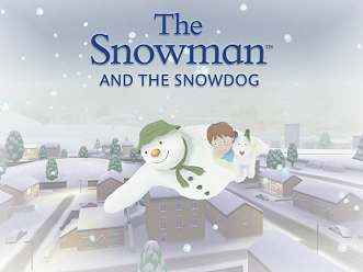 The Snowman and the Snow dog