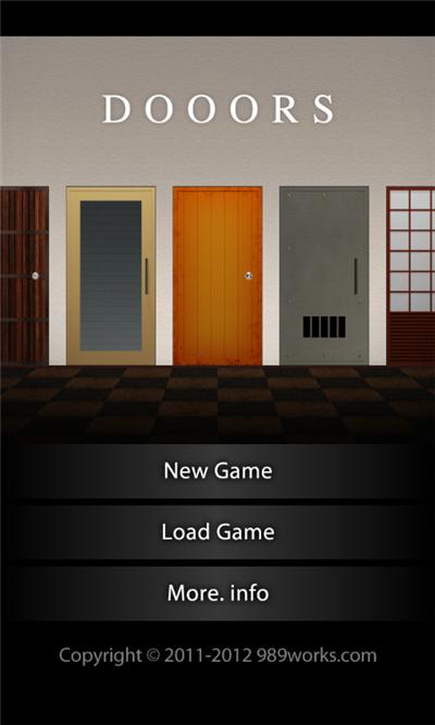 Doors Room Escape Game