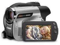 filmadora canon DVD DC420