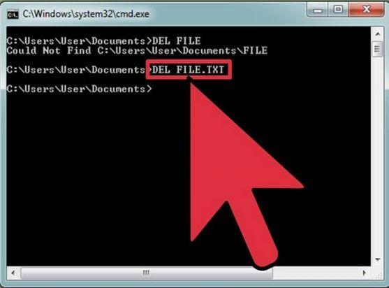4 formas para excluir arquivos trancados