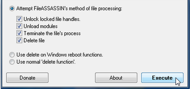 Excluir Arquivos Impossíveis de Excluir