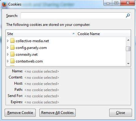Como Excluir Cookies do Seu Navegador Web Favorito