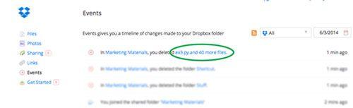 2 formas para recuperar arquivos excluídos da Dropbox no Windows e Mac
