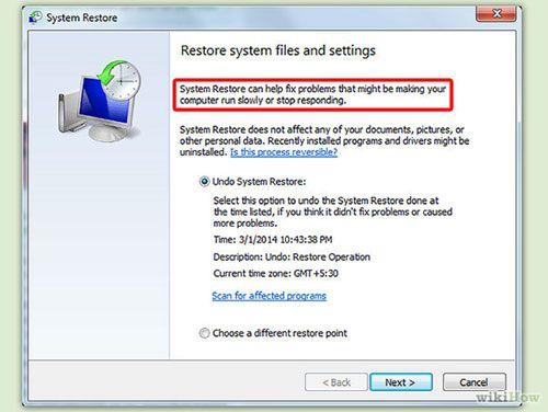 Restauro de Sistema - O Restauro de Sistema Exclui Arquivos?