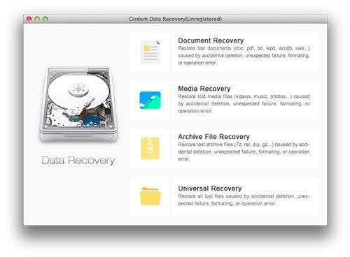 Top 7 Ferramentas para Desfazer Exclusões para Mac OS X