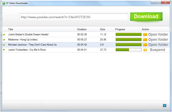 SF video downloader