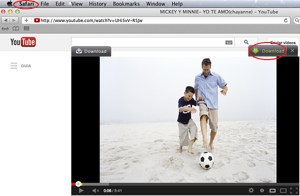 youtube to imovie