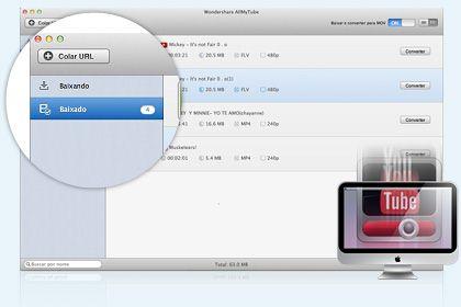 AllMyTube para Mac key feature