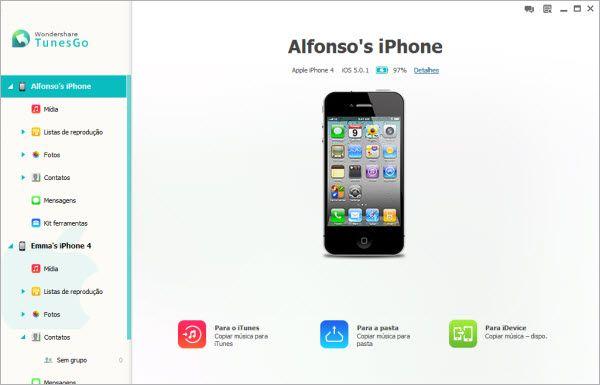 copiar videos do iphone