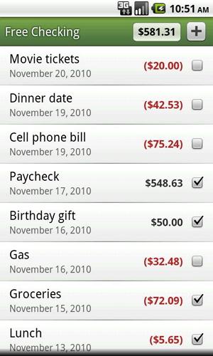 gerenciador custos android
