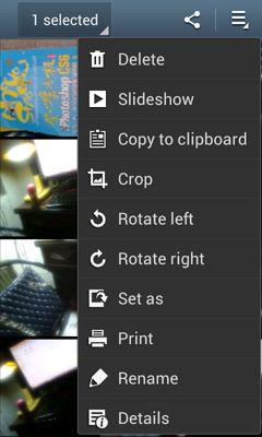 gerenciador fotos android