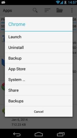 gerenciador app android