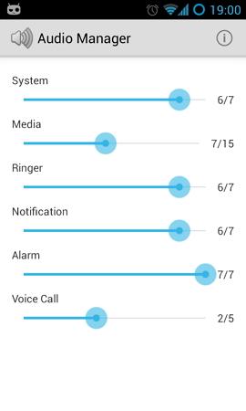 gerenciadores audio android