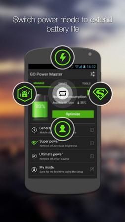 gerenciador bateria android