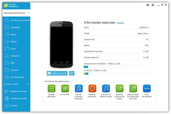 backup contatos android