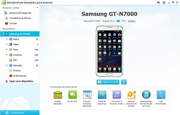 Gerenciador de SMS Android