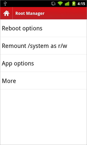 gerenciador root android