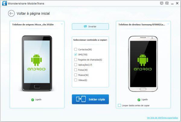 sincronizar apps de android