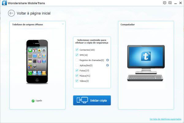 Como Transferir Dados do LG para Dispositivos iOS