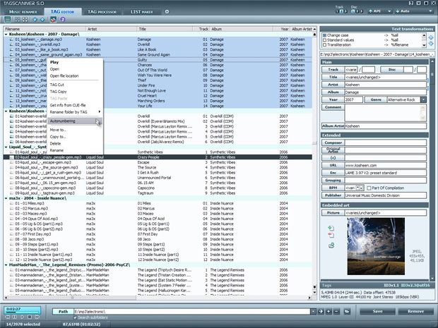 Etiquetas Áudio para Windows e Mac
