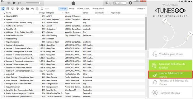Encontrar e Remover Músicas Duplicadas