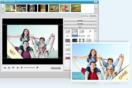 DVD Slideshow Builder Deluxe  key feature