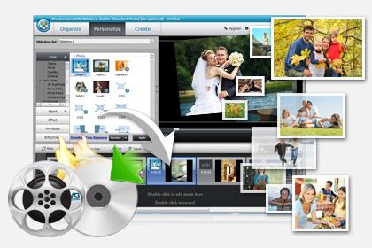 DVD Slideshow Builder Standard  key feature