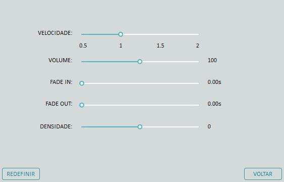 como alterar volume