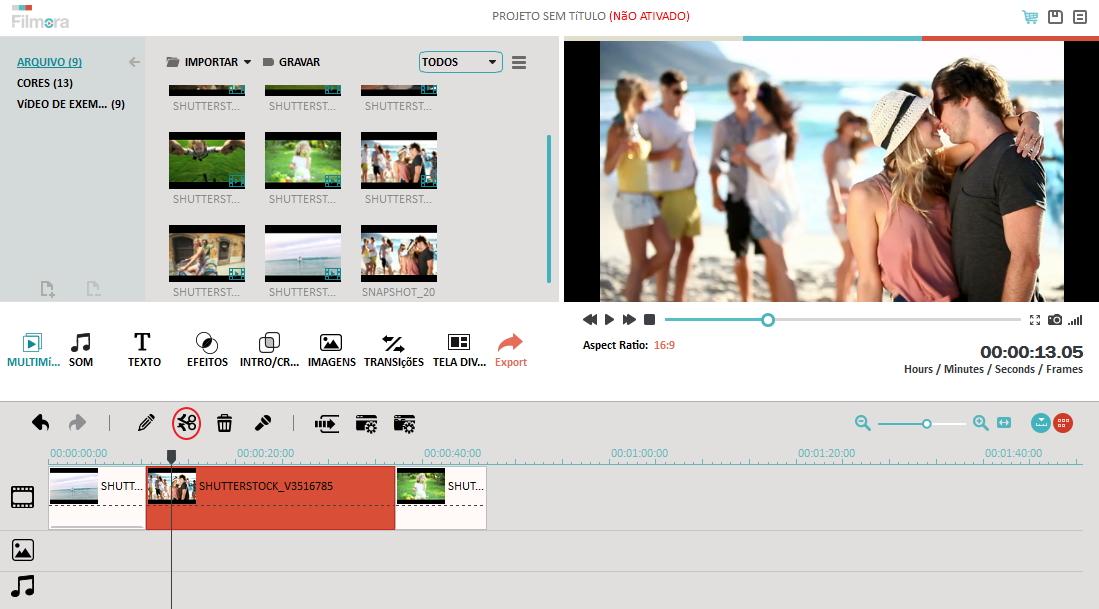 reduzir o tamanho do vídeo