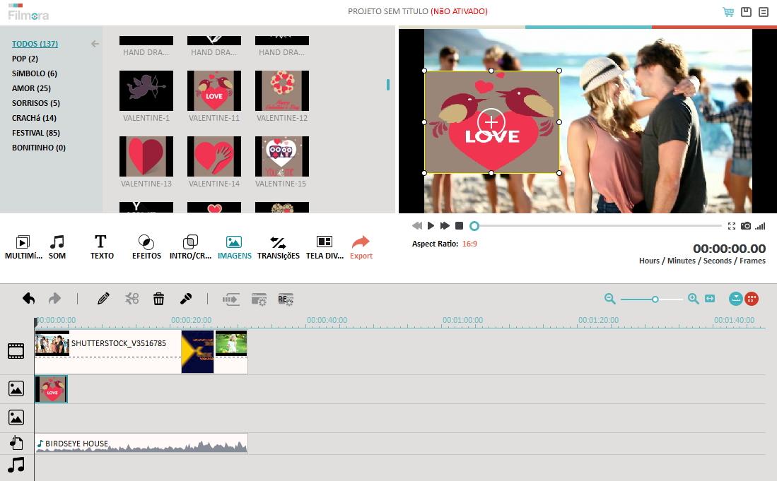 software de edição de vídeo fácil