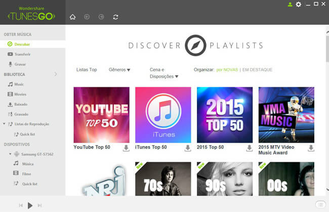 discover playlists