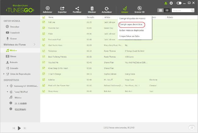 Corrigir Capas de Músicas na Biblioteca do iTunes