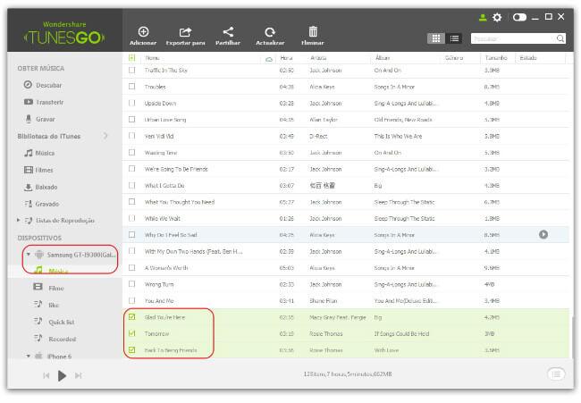 Transferir Música do iTunes para Celular Android