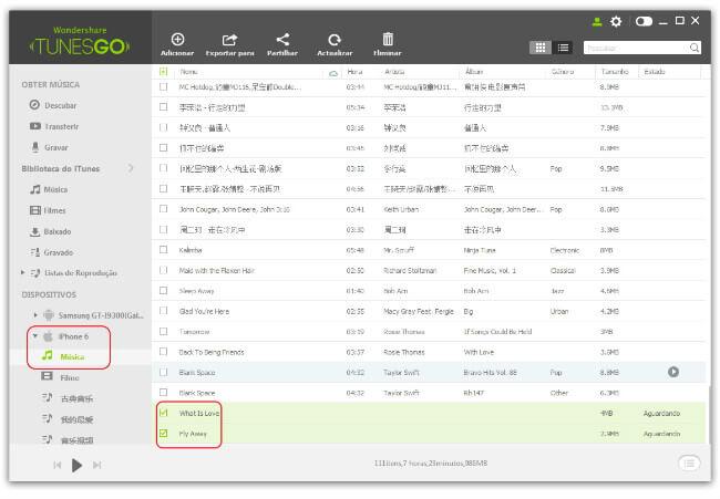 Gravar Música do Spotify e Streaming para iPhone/iPad/iPod