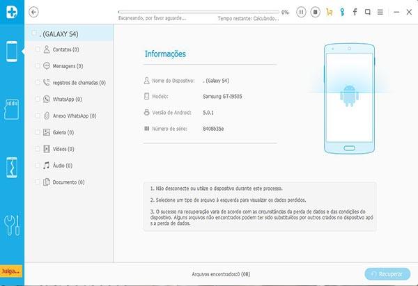 Recuperação Samsung Galaxy