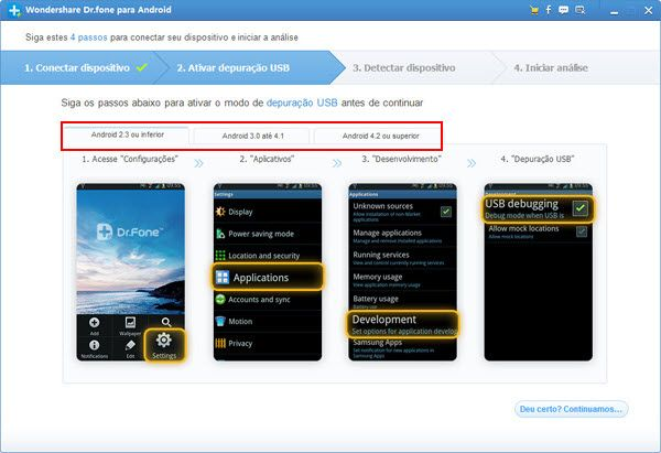 recuperar sms do samsung galaxy y