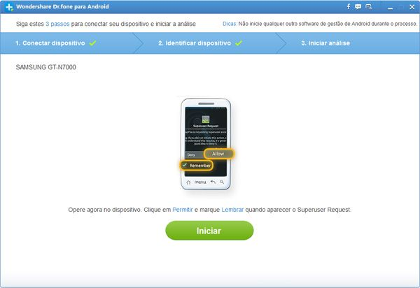 recuperar sms do samsung galaxy fit