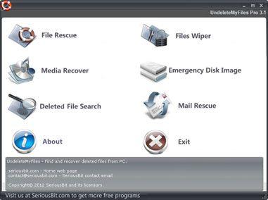 software para recuperar dados do cartão de memória