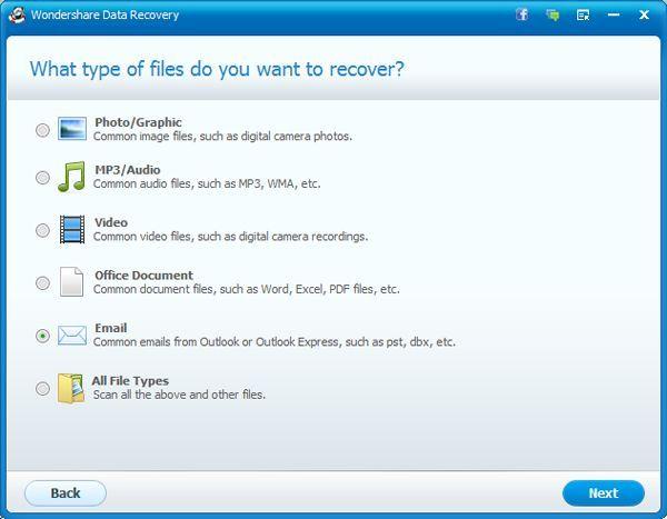 como recuperar emails deletados