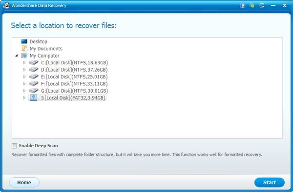 recover formatted usb